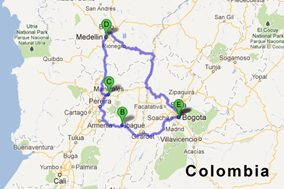 [Colombia 2013] First location confirmed!