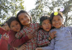 [Nepal 2013] Tuesday 12th of November – First day of classes at Maya Universe Academy