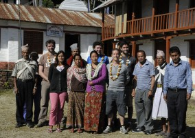 [Nepal 2013] Saturday 16th of November – Visit to a Pokhara Mountain School